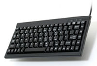(Click to Enlarge) UNITECH [uni-k595u-b] - >> 88-89 KEY BLACK MINI KEYBOARD W- USB I-F - WINDOWS KEYS (ITEM ALSO KNOWN AS : K595U-B) [uni-k595u-b]