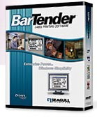 (Click to Enlarge) Seagull Scientific BarTender v8.x Professional Edition Label Software - 3 Users