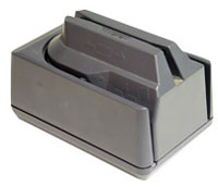 (Click to Enlarge) MAGTEK INC [22530022] - >> MINI MICR KB WEDGE GRAY 240V W/3 TRACK MSR  CABLE REQUIRED [22530022]