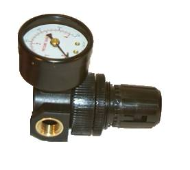 HVLP Air Regulator with 0-60 psi gauge