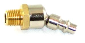 "Ball Swivel- 1/4"" Male NPT x Milton 727 Nipple (Standard)"