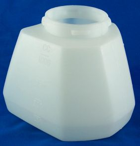 Quart Container, 6-SIDED (Only Fits Six Sided Housing units!)