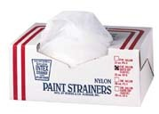 Paint Strainers, Elastic Top, Nylon, 5 gallon