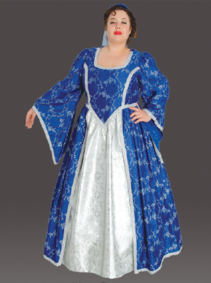 Plus Size Medieval Princess Costume (Blue)  sc 1 st  Fantasy Toyland : blue princess costume  - Germanpascual.Com