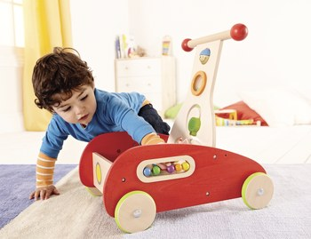 Push Toys For Toddlers : Wonder walker kids push cart push and pull toys