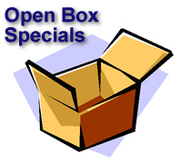 Open-Box Golf Equipment Specials