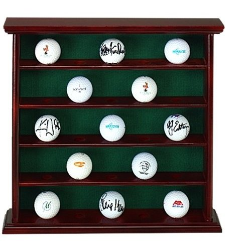 25 Golf Ball Collectoru0027s Cabinet