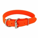 buy discount  ORANGE K-9 Komfort 1 in. TufFlex Dee-End Collar