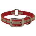buy discount  Red K-9 Komfort Center Ring 3/4 in. Reflective Puppy Collar -- 12 in. length