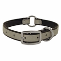 buy discount  Black K-9 Komfort Center Ring 3/4 in. Reflective Puppy Collar -- 12 in. length