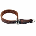buy discount  Pinch Collar Small Leather  21 inch