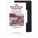 buy discount  1991 National Bird Dog Championship VHS Tape