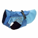 buy discount  CLEARANCE -- BLUE Hurtta Dog Raincoat