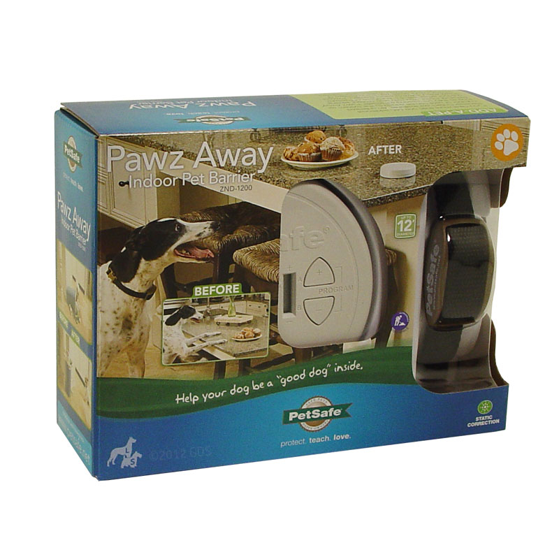 Petsafe Pawz Away Indoor Pet Barrier with One Zone -- ZND 1200 ...