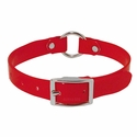 buy discount  Red 3/4 in. Center Ring Day Glow Collar - 12 inch