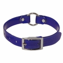 buy discount  Blue 3/4 in. Center Ring Day Glow Collar - 12 inch