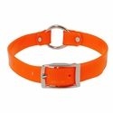 buy discount  Orange 3/4 in. Center Ring Day Glow Collar - 12 inch