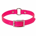buy discount  Pink 3/4 in. Center Ring Day Glow Collar - 12 inch