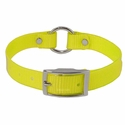 buy discount  Yellow 3/4 in. Center Ring Day Glow Collar - 12 inch