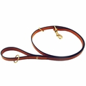 buy discount  K-9 Komfort 4 1/2 ft. London Tan Bridle Leather Snap Lead