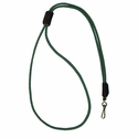buy discount  Hunter Green Mendota Premium Solid Braid Lanyard
