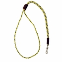 buy discount  Hi-Viz Yellow Mendota Premium Solid Braid Lanyard