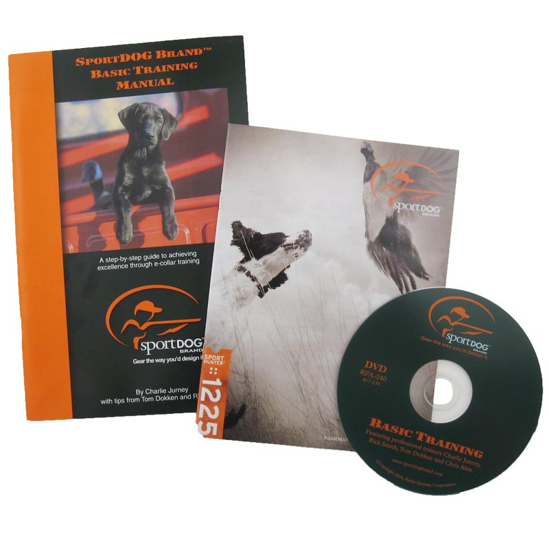 SportDOG SD-1225 Manuals and DVD