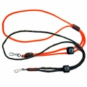 Single Whistle Lanyard with Compass by Mendota