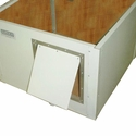 buy discount  Cube Dog House Door Detail