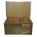 buy discount  Divider House Front View Lid Open