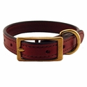 buy discount  Mahogany K-9 Komfort 3/4 in. Leather Collar
