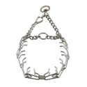 buy discount  LARGE Herm Sprenger Quick Release Chrome Plated Steel Pinch Training Dog Collar #6425H