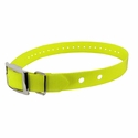 "buy discount  Hi-Flex 1"" 2-Hole Yellow Replacement Collar Strap"