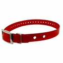 "buy discount  Hi-Flex 1"" 2-Hole Red Replacement Collar Strap"