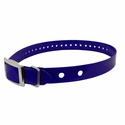 "buy discount  Hi-Flex 1"" 2-Hole Blue Replacement Collar Strap"