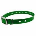 "buy discount  Hi-Flex 1"" 2-Hole Green Replacement Collar Strap"