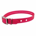 "buy discount  Hi-Flex 1"" 2-Hole Pink Replacement Collar Strap"