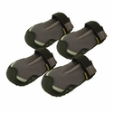 CLEARANCE -- Gray Grip Trex Dog Boots by Ruff Wear -- Set of 4