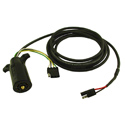 buy discount  Ruff Tough Kennel Fan Round 7 Pin Power Cord with 4 Pin Trailer Connector