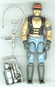 GI JOE 1984 Cobra Dreadnok Torch (loose) GI Joe Action Figures & G.I. Vintage Toys at Guru-Planet