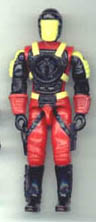 GI JOE Battle Corps Cobra Crimson Guard Commander (bc)(figure) GI Joe Action Figures & G.I. Vintage Toys at Guru-Planet