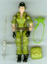 GI JOE 1985 Lady Jaye (loose) GI Joe Action Figures & G.I. Vintage Toys at Guru-Planet
