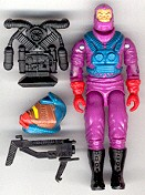 GI JOE Cobra Toxo-viper (loose) GI Joe Action Figures & G.I. Vintage Toys at Guru-Planet
