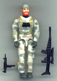 GI JOE Blizzard (1997)(loose) GI Joe Action Figures & G.I. Vintage Toys at Guru-Planet
