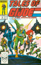 Tales of GI JOE #4 GI Joe Action Figures & G.I. Vintage Toys at Guru-Planet