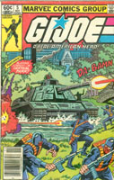 GI JOE Marvel Issue #5 GI Joe Action Figures & G.I. Vintage Toys at Guru-Planet