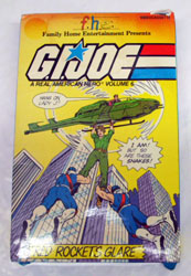GI JOE Red Rockets Glare VHS GI Joe Action Figures & G.I. Vintage Toys at Guru-Planet