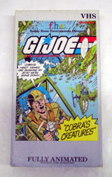 GI JOE Vol.5 Cobra's Creatures VHS GI Joe Action Figures & G.I. Vintage Toys at Guru-Planet