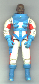 GI JOE Roadblock (white)(figure) GI Joe Action Figures & G.I. Vintage Toys at Guru-Planet