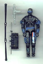 GI JOE Snake Eyes Action Figure (2000)(loose) GI Joe Action Figures & G.I. Vintage Toys at Guru-Planet